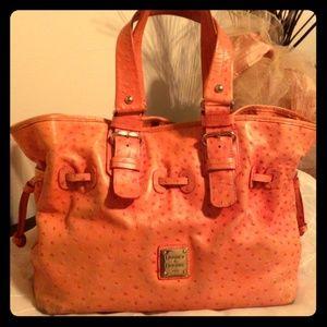 Dooney & Bourke Vintage Ostrich bag
